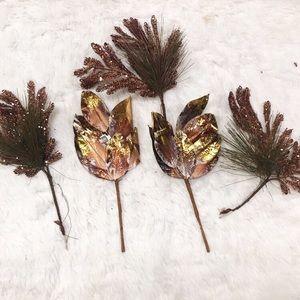 Faux fall leaf stems NEW